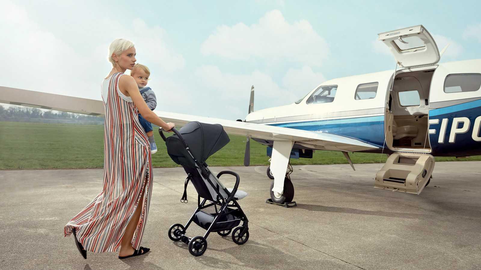 Viaje en avion silla de paseo Quid Inglesina